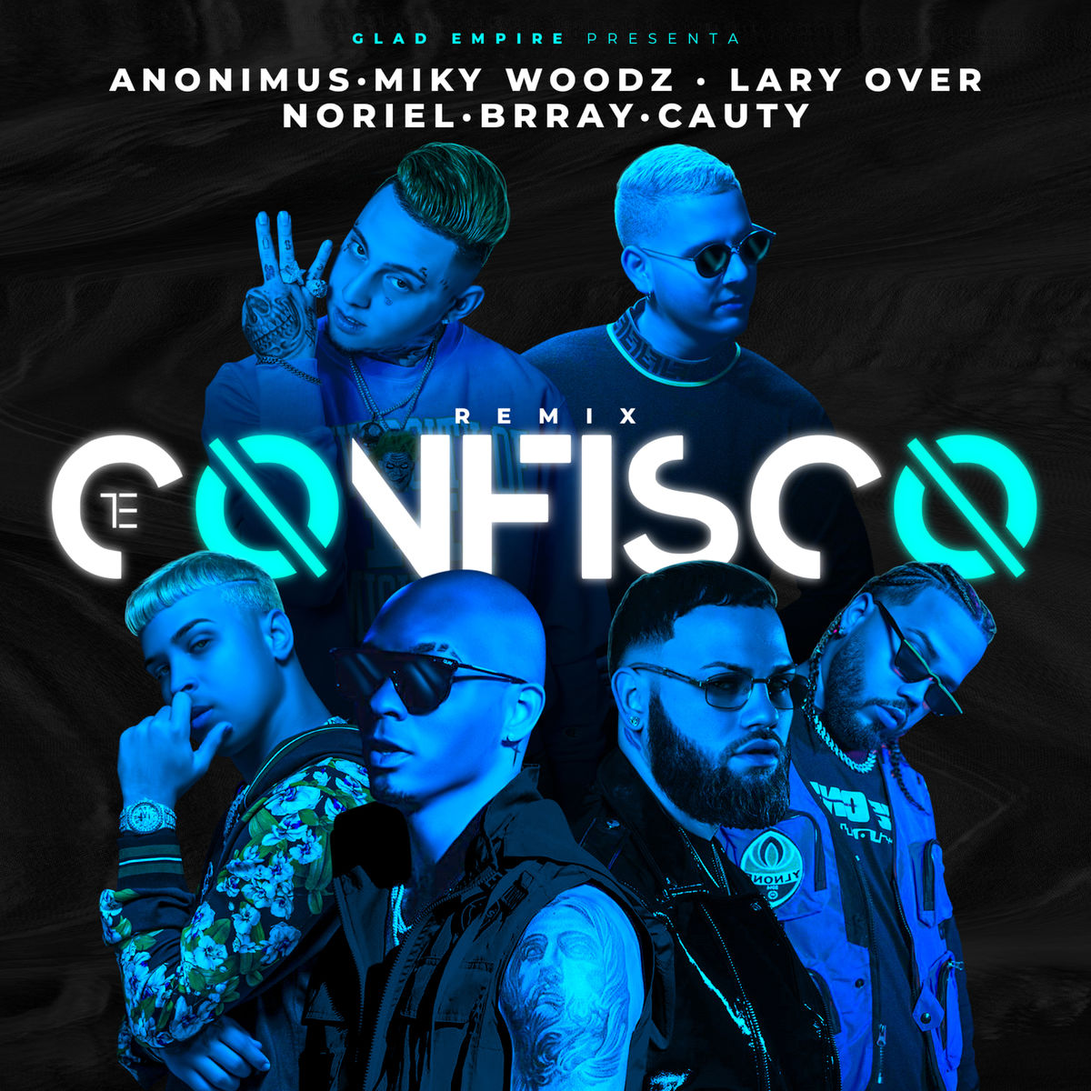 Anonimus Ft Miky Woodz, Lary Over, Brray, Noriel Y Cauty – Te Confisco (Remix)